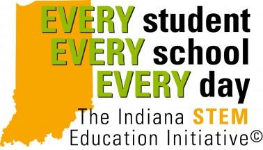 Indiana STEM logo